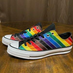 Converse Chuck 70 Ox LGBTQ White Rainbow Mens 8.5